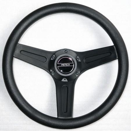 Руль Pretech PRETECH 32см черный