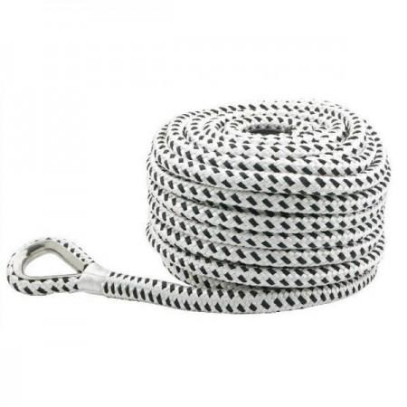 Веревка полиэстер с коушом 12ммХ50м