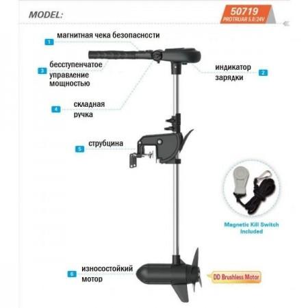 Электромотор Haswing Protruar 3 л.с....