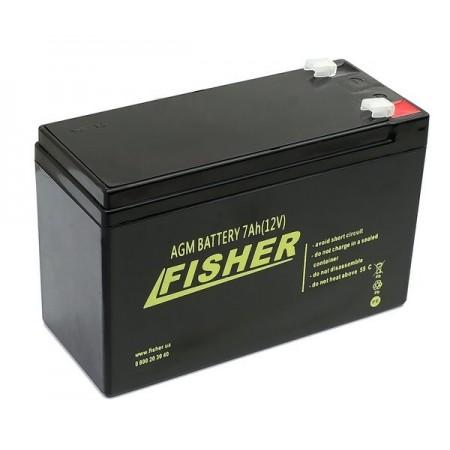 AGM аккумулятор Fisher 7Ah