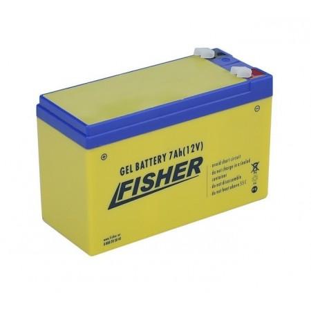 GEL аккумулятор Fisher 7Ah желтый