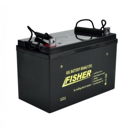 Гелевый аккумулятор Fisher 80Ah 12V