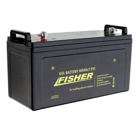 Гелевый аккумулятор Fisher 100Ah