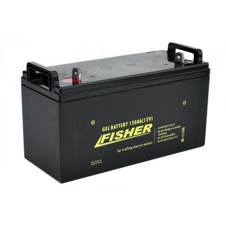 Гелевый аккумулятор Fisher 120Ah 12V