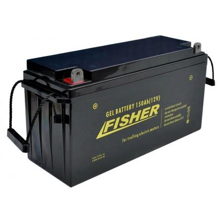 Гелевый аккумулятор Fisher 150Ah 12V