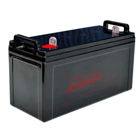 AGM аккумулятор Fisher 100Ah, вес 30кг