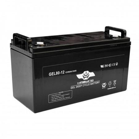 Гелевый аккумулятор Haswing 80Ah 12V