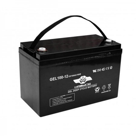 Гелевый аккумулятор Haswing 100Ah 12V