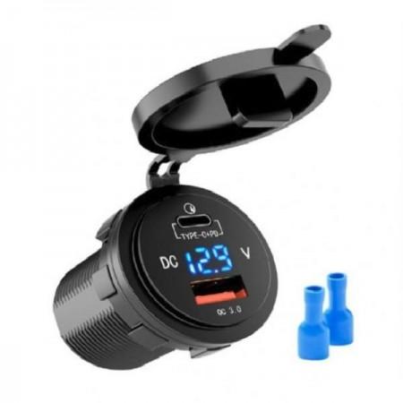 USB зарядка и зярядка Type C QC 3,0