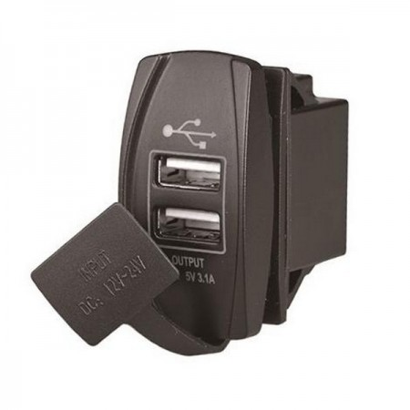 USB зарядка  два порта 3,1А