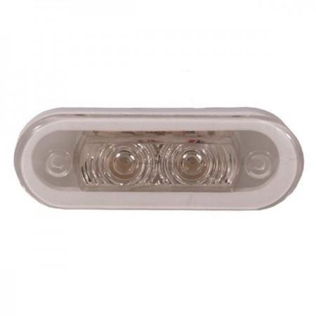 Палубный светильник  0,4Вт свет белый