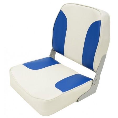 Складное кресло Aqualand серо-синее