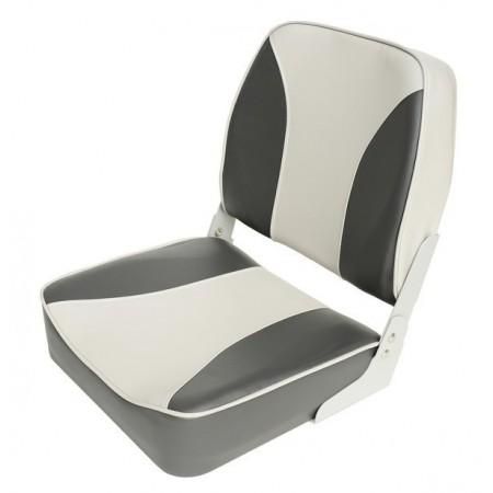 Складное кресло Aqualand серо-черное