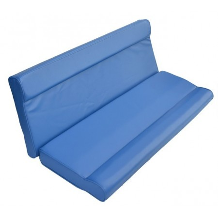 Задний диван для катера 120см синий