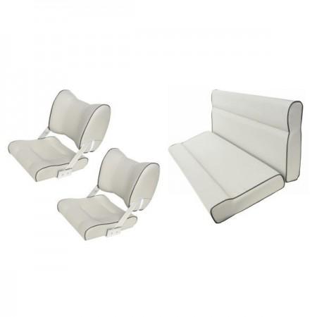 Комплект сидений для катера светло-серый
