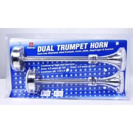 Двойной электрический горн TRUMPET