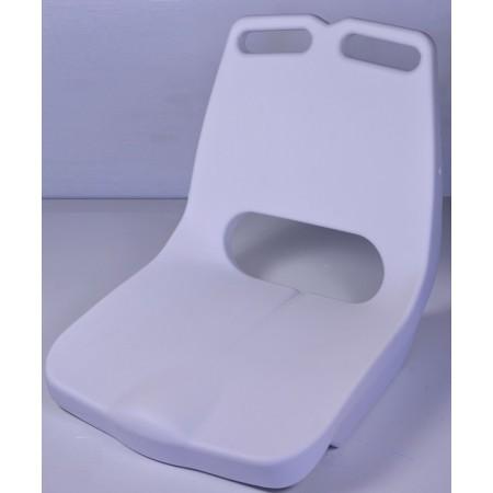 Сидение пластиковое белое