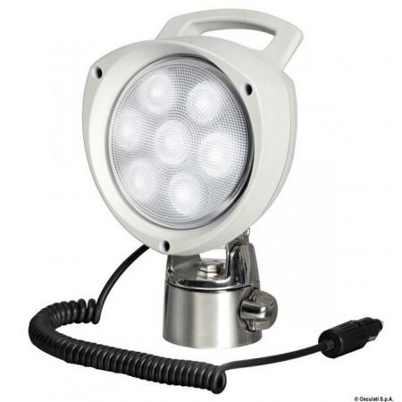 Прожектор светодиодный с шарнирным...